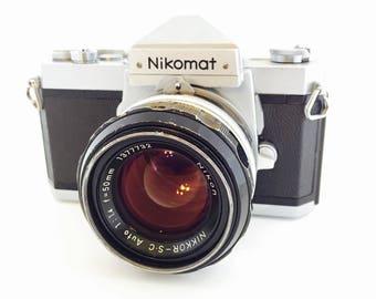 Nikomat FT w/50mm f/1.4