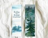 Bookish Wonderland - Bookmark