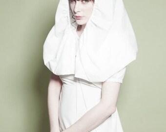 White Bolero hooded fairy tale