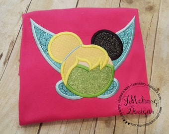 Tinkerbell Inspired Mouse Custom embroidered Disney Inspired Vacation Shirts for the Family! 51b