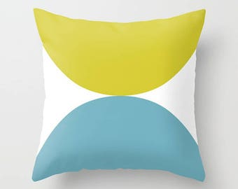 """outdoor cushions, outdoor pillows, outdoor cushion covers, outdoor pillow covers, blue, green. 16"""" x 16"""", 18"""" x 18"""" or 20"""" x 20""""."""