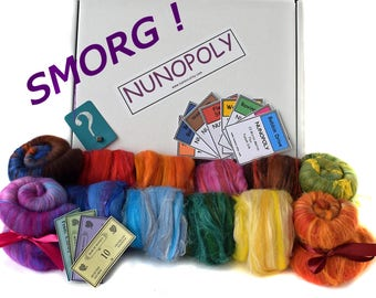 SMORG - NUNOPOLY -Smorgasbox - sample box - 300g - Merino blends