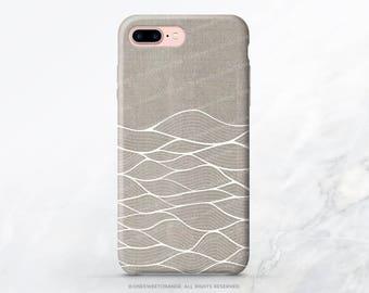 iPhone 7 Case Linen Waves iPhone 7 Plus Case iPhone 6s Case iPhone SE Case iPhone 6 Case iPhone 5S Case Galaxy S7 Case Galaxy S8 Case I191