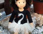 Special order for Jami, final paymentWaldorf doll Ella , organic doll, 40 sm - gift for girls, collection doll