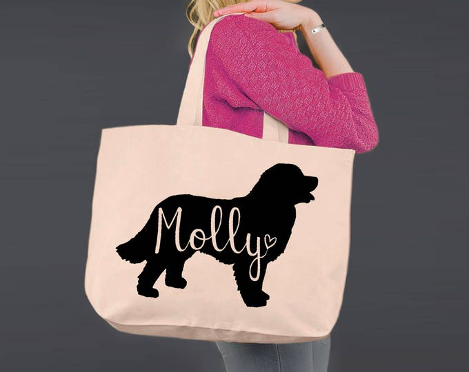Bernese Mountain Dog | Tote Bag | Canvas Tote Bag | Dog Tote Bag | Canvas Tote | Shopping Tote | Shopping Bag | Dog Tote | Korena Loves