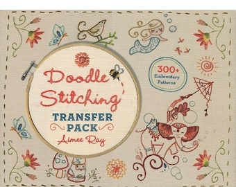 PRESIDENTS DAY SALE Doodle Stitching Transfer Pack
