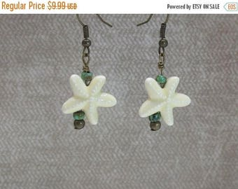 AUGUST SALE APRIL Sale Nautical starfish earrings
