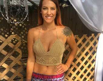 Crochet Festival Top