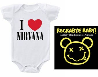 Nirvana Heart Baby Gift Set