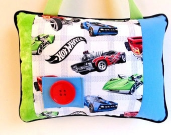 Personalized Hot Wheels Tooth Fairy Pillow, Boys Tooth Fairy Pillow, Hot Wheels Decor, Boys Room Decor,  Boys Hanging Pillow