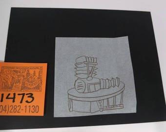 "1980's Gary Panter Sketch for ""PeeWee's Playhouse""Set Design"