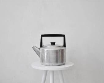 Vintage aluminum kettle