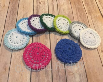 Crocheted Pot Scrubber, Dish scrubbie, Pot Scrubbie, Dish Cloth