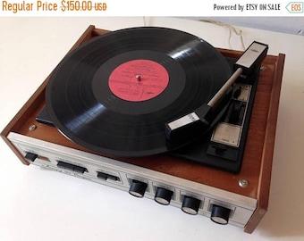 "SALE Turntable ,vinyl record player ,technics turntable, Record player, vinyl record, Working Turntable , working record player, ""accord"