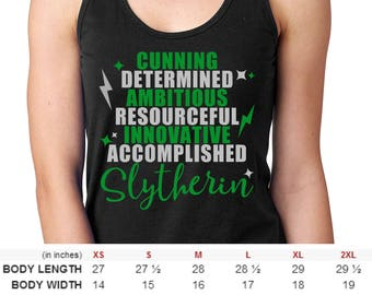 Men and Women Harry Potter Slytherin House Shirt
