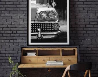 Buick photography/classic car photography/car poster/car print/Buick poster/garage decor/car photo/classic car decor gift/kids room decor