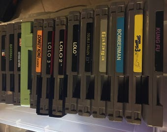 Large Lot of Vintage Nintendo NES Games