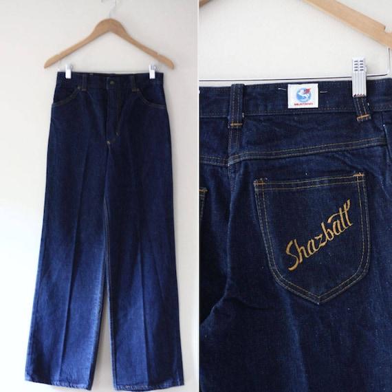 1970s Shazbatt jeans // vintage denim // vintage jeans