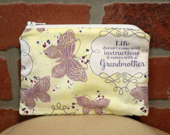 One Snack Sack, Grandma's, Reusable Lunch Bags, Waste-Free Lunch, Machine Washable, Back to School, School Lunch, item #SS56