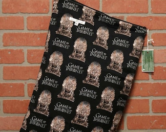 Wetbag, Game of Thrones, Cloth Diaper Storage, Diaper Pail Liner, Laundry Bag, Holds 20+ Diapers, Size XL with Handle #XL47