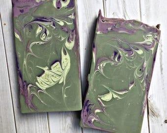 Loki / Vegan Soap / Ultra Shea Butter Soap / Lord of Misrule Type
