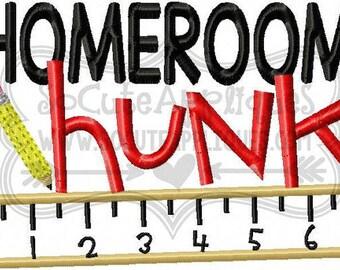 Homeroom Hunk! T-shirts/ Back to School Shirts/ Embroidered T-shirt/ Toddler T-shirt