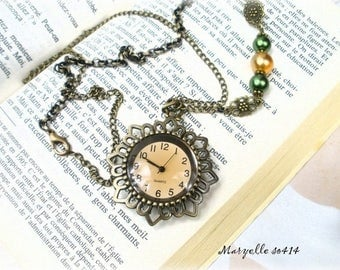 fancy vintage MARYELLE SO414 style pocket watch *.