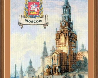 Cities of Russia. Moscow - Cross Stitch Kit from RIOLIS Ref. no.:0064 PT