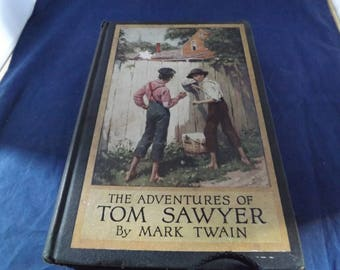 Antique Adventures of Tom Sawyer By Mark Twain