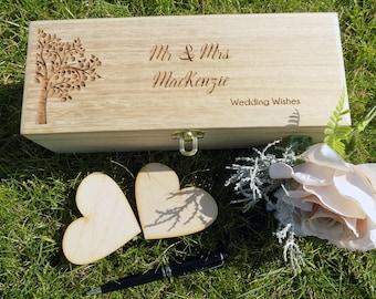 Wedding Wishes Wooden Box