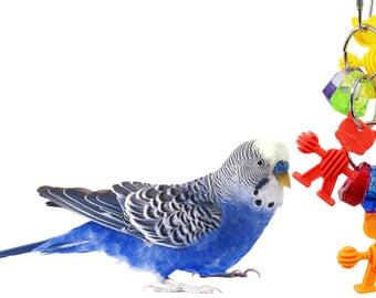 1097 Mad Men Ringer Bird Toy