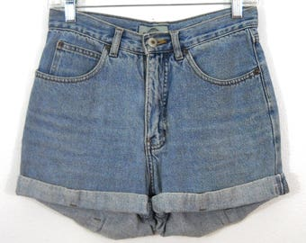 Vintage Denim Shorts / Size 3/4