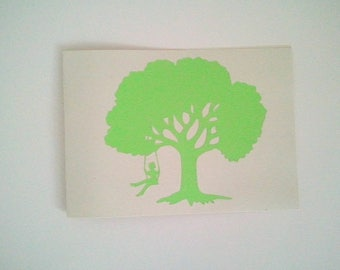 """The card and envelope """"Swing"""""""