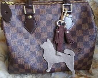 Chihuahua  bag charm / key holder