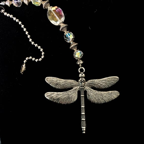 Dragonfly Light Pull Ceiling Fan Pulls Decorative Ball Chain
