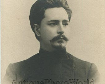 Leonid Andreev writer playwright antique rppc photo Russia