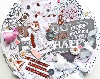 Inspiration Kit / Prima Rose Quartz / Planner Kit / Scrapbook Kit / Embellishments / Embellishment Kit / Junk Journal Kit / Card Making Kit