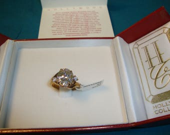 Norma Shearer Pink Diamond Ring Hollywood Collection