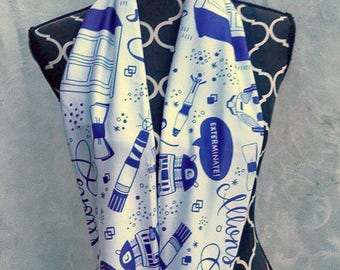 Doctor Who White Infinity Scarf