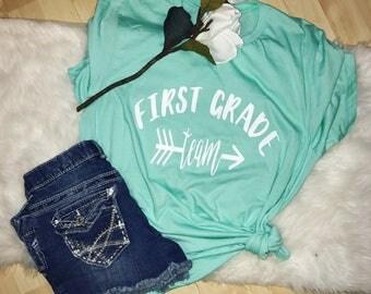 First grade team shirt - first grade teacher - teacher shirt - teacher gift
