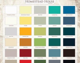 Homestead House Milk Paint Full Size Quart Clearance Sale