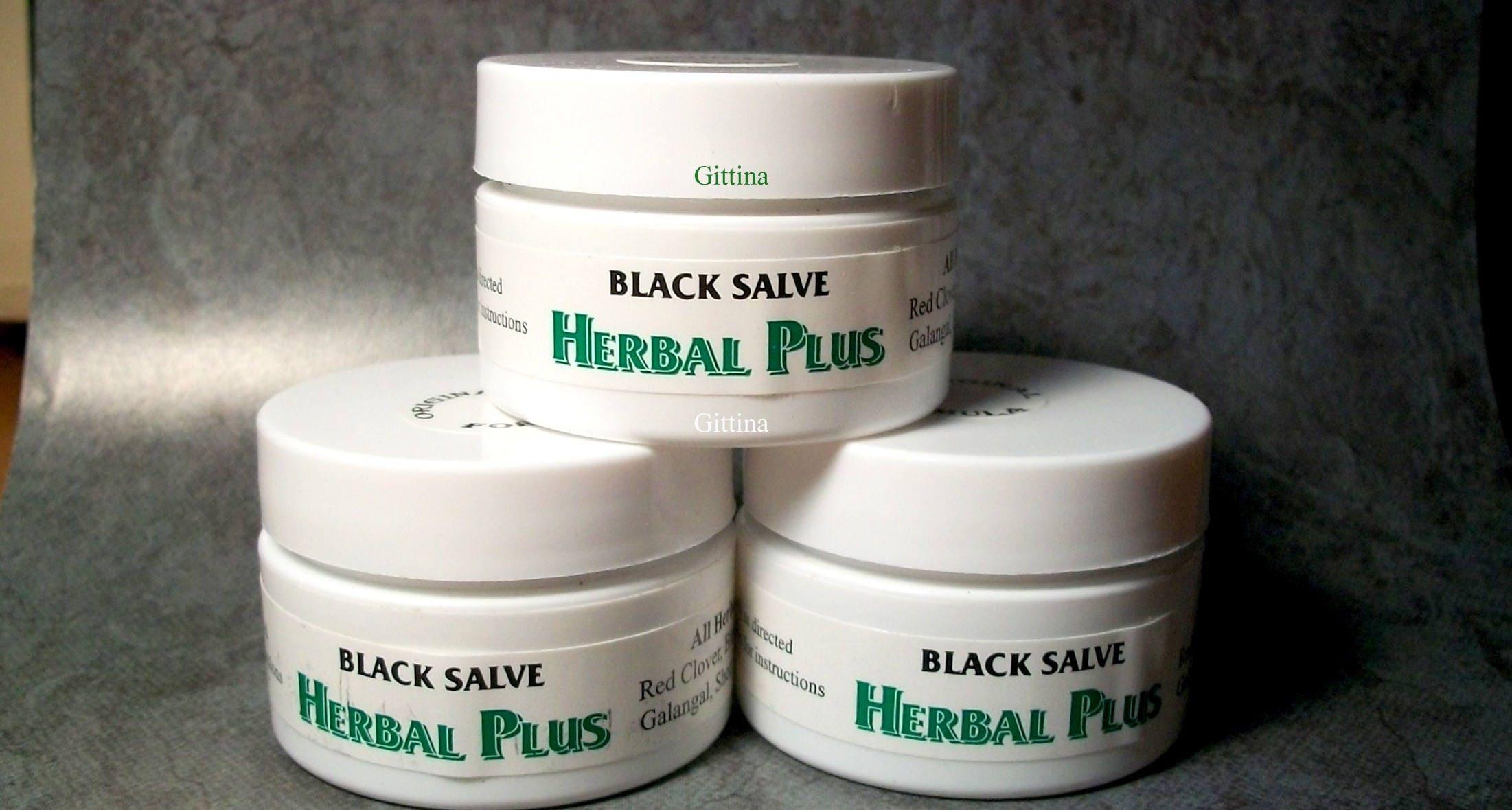 herbal plus black salve instructions