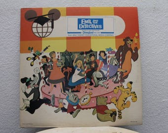 Walt Disney - Emil and the Detectives, vinyl record