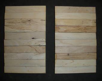 20  BEECHNUT WOOD Turning Wood Pen  Razor Blanks #B2