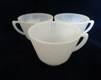 Petalware MacBeth Evans Cups Lot of 3