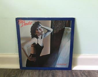 "Pat Benatar ""In the Heat of the Night"" vinyl record"