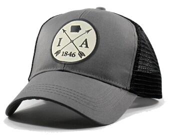 Homeland Tees Iowa Arrow Hat - Trucker