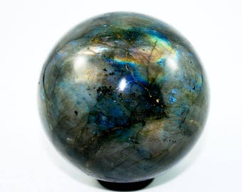 40mm Labradorite Sphere, Labradorite Gemstone Sphere 4cm Polished Specimen, Labradorite Gem Sphere 40mm, Labradorite Gemstone Sphere