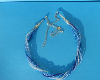 "Necklace ""the big blue"""