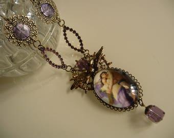 Baroque necklace l romance ' Angel